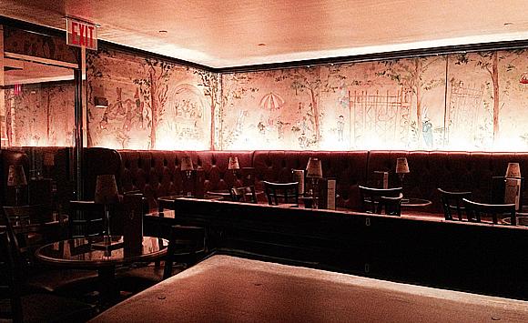 Bemelmans Bar i Carlyle Hotel, 35 East 76st Street.