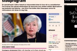 Fed varvar ned