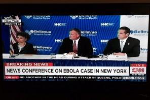Ebolan har kommit till New York