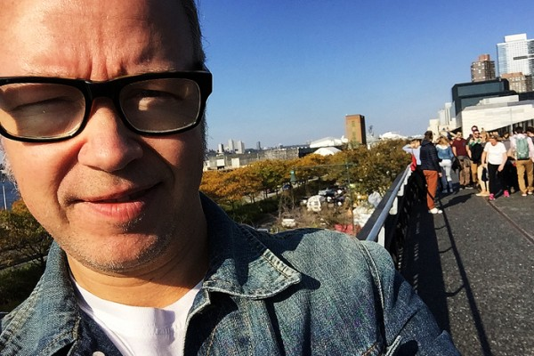 En High Line-selfie.