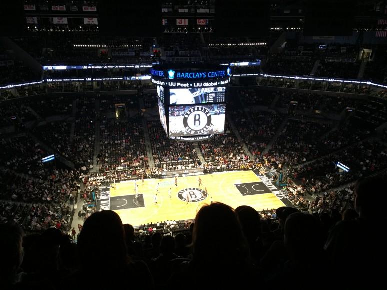 Nets spelar hemma mot Pacers, tisdag den 31 mars 2015 i Barclays Center.