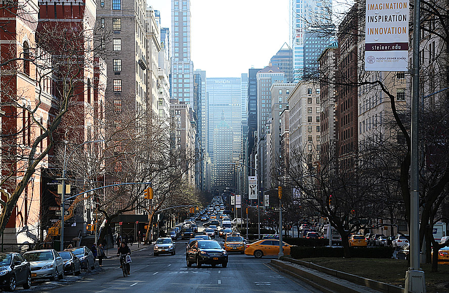 Park Avenue, New York City.