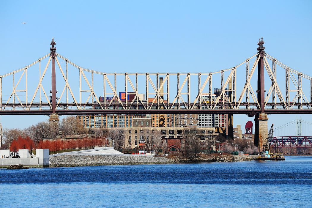 Queensboro Bridge norrut. Foto: Erik Bergin