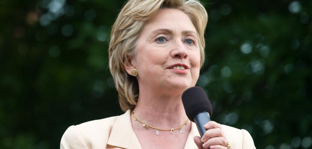 USA:s tidigare utrikesminister Hillary Clinton satsar på Vita Huset 2016. Foto: Roger Goun/Flickr