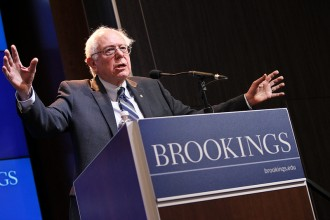 Bernie Sanders, senator från Vermont. Foto: Brookings/Flickr