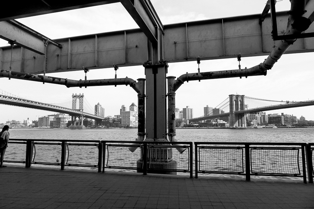 Vy mot Brooklyn.