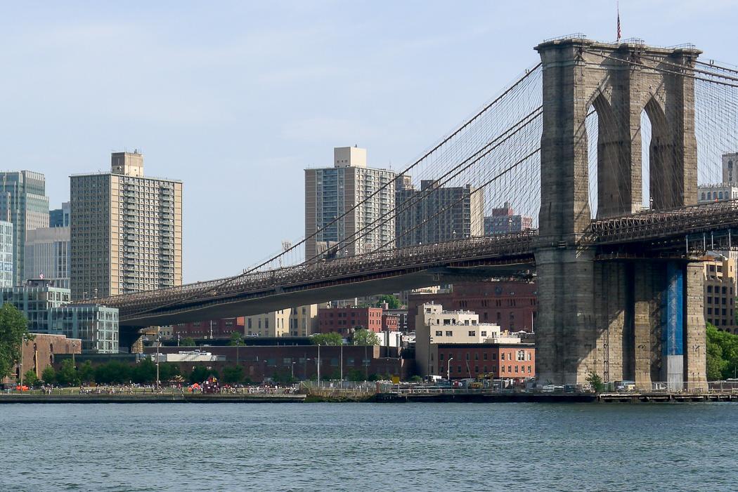 Brooklyn Bridge.