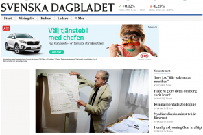 Kolla in nya SvD.se
