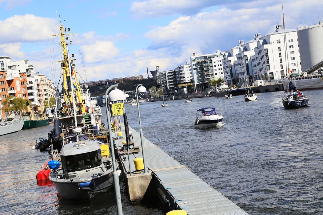 Hammarbykanalen.