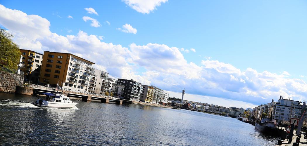 Hammarby Sjöstad.