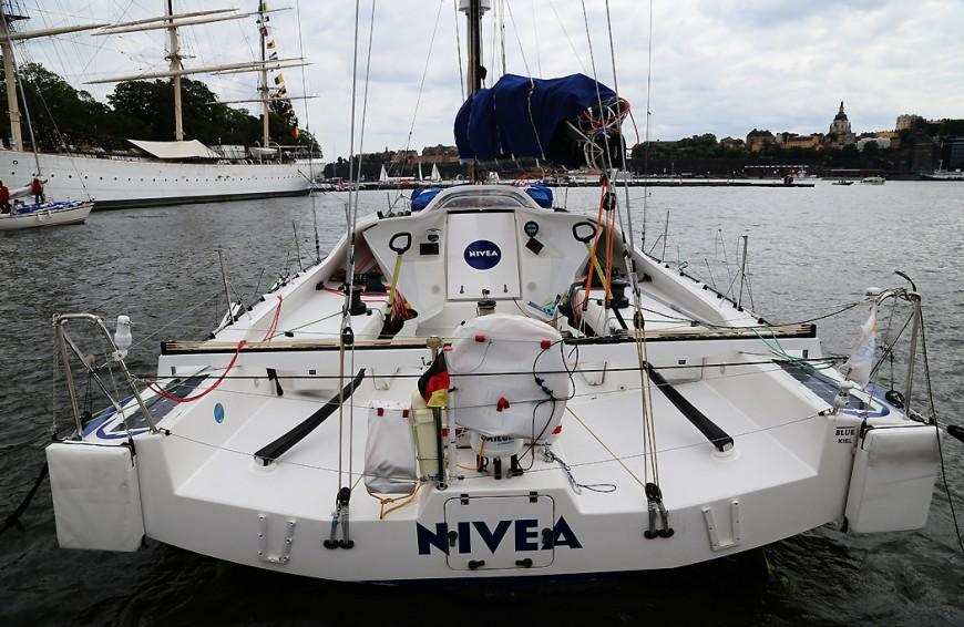 Nivea-båten.