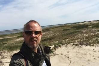 Jag utforskar yttersta spetsen på Cape Cod, Rhode Island.