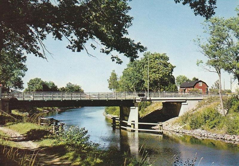 Väddö kanal vid Älmsta. Foto: Upplandia.se