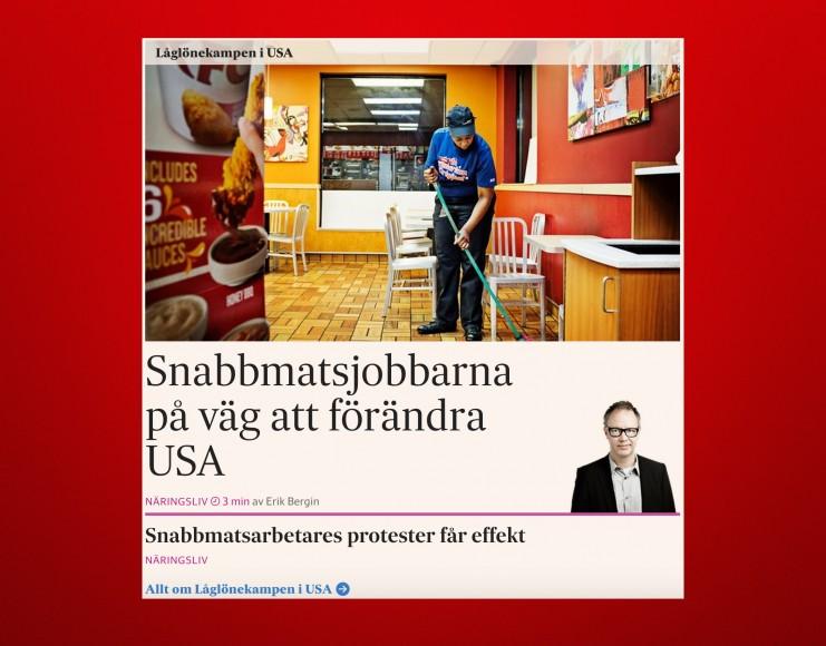 Löneanalysen i SvD Näringsliv på nätet, torsdag den 23 juli 2015.