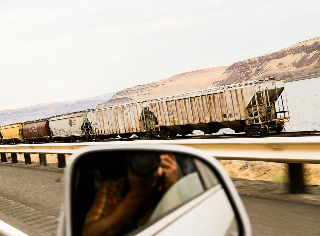 Ett tåg.