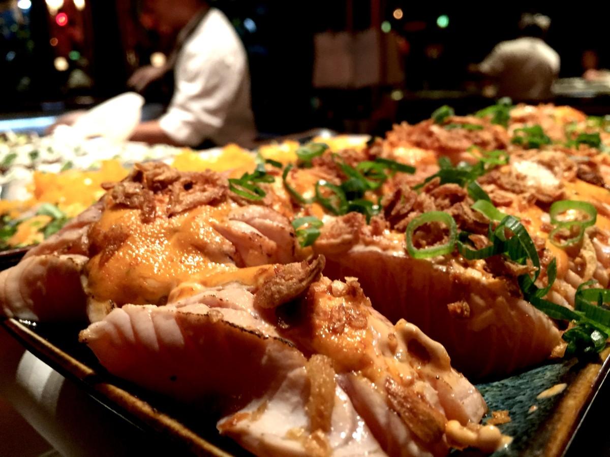 Sushi galore på Berns.