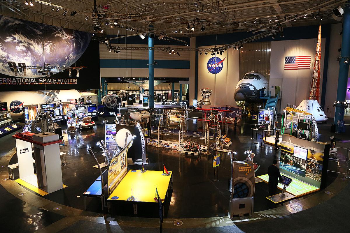 Rymdmuseet vid Johnson Space Center.