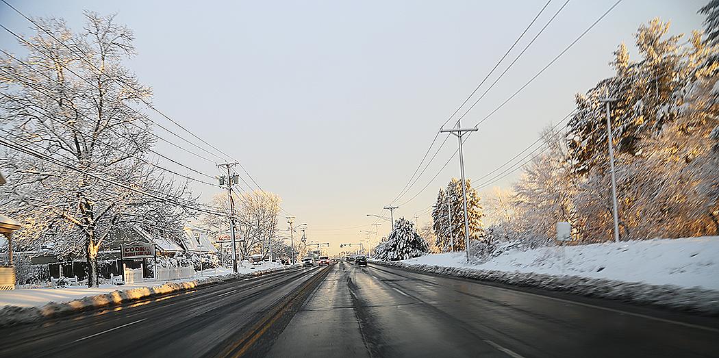 Huvudgatan genom Salem, New Hampshire.