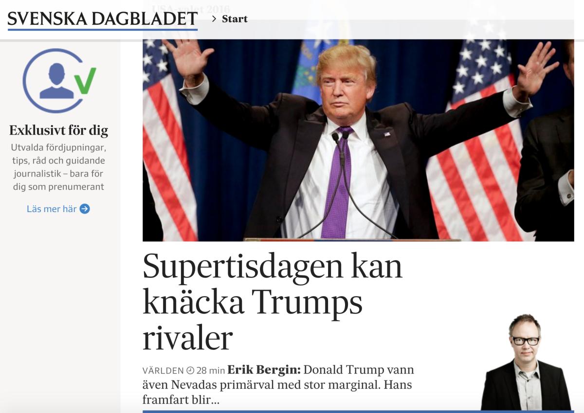Analysen om dramat inför Supertisdagen.