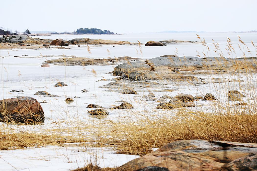 Isen lägger ännu. Foto: Erik Bergin