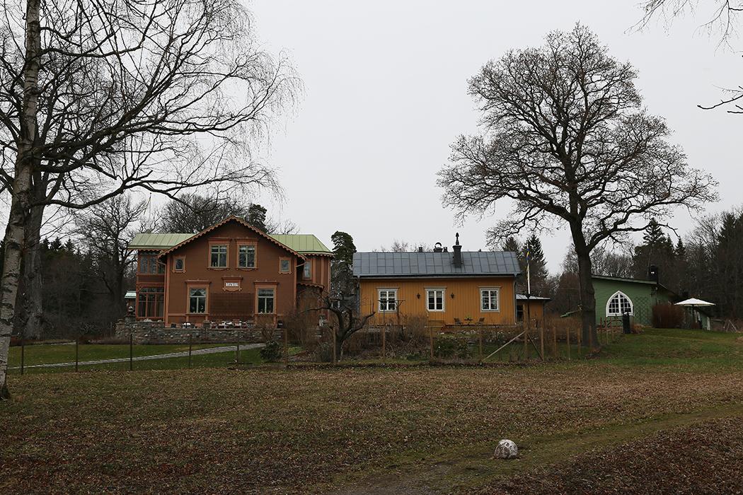 Hus på Norra Djurgården.