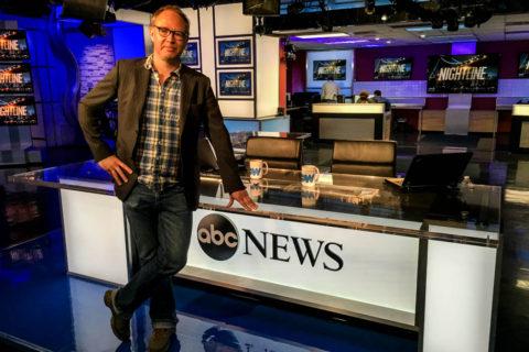 Jag i ABC News nyhetsstudio den 18 maj 2016. Foto: ABC News