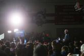 Bernie Sanders i Des Moines, Iowa, söndagen den 31 januari 2016. Foto: Erik Bergin