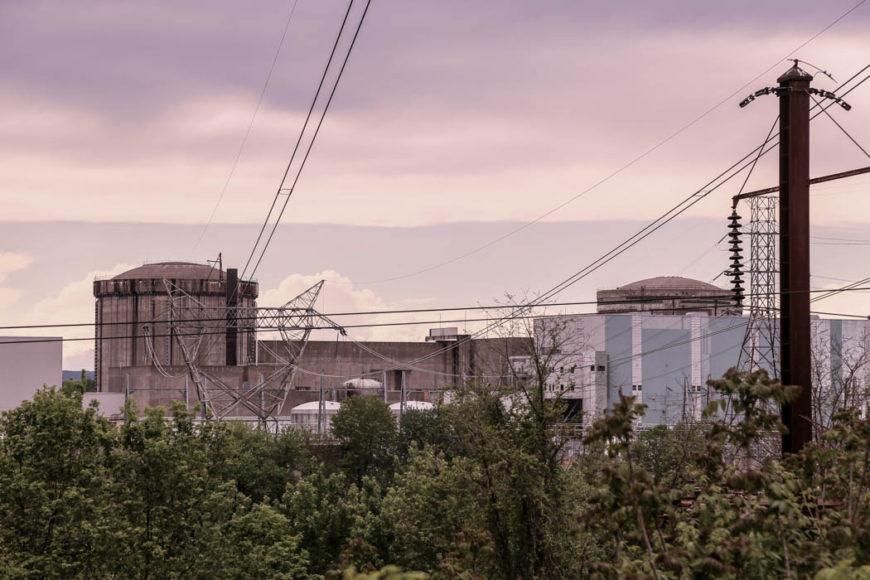 Reaktor 2 på Three Mile Island som råkade ut för en partiell härdsmälta 1979. Foto: Erik bergin