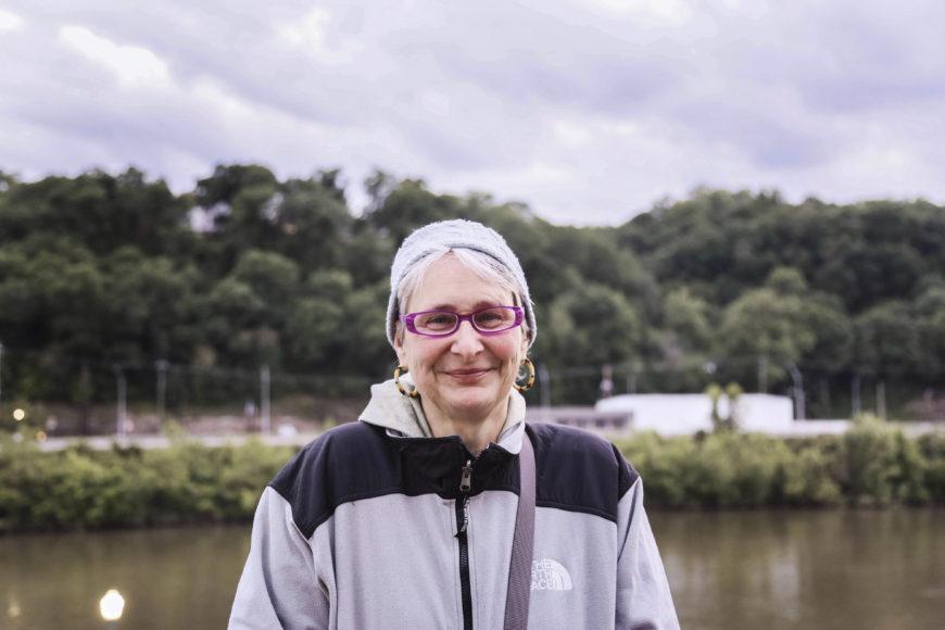 Vivian Stockman, en av många miljöaktivister i West Virginia som strider mot kolbolagen. Foto: Erik Bergin