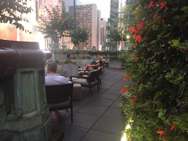 Knickerbocker Hotels rooftop bar, St Cloud.