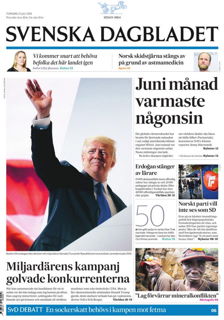 Torsdagens SvD.