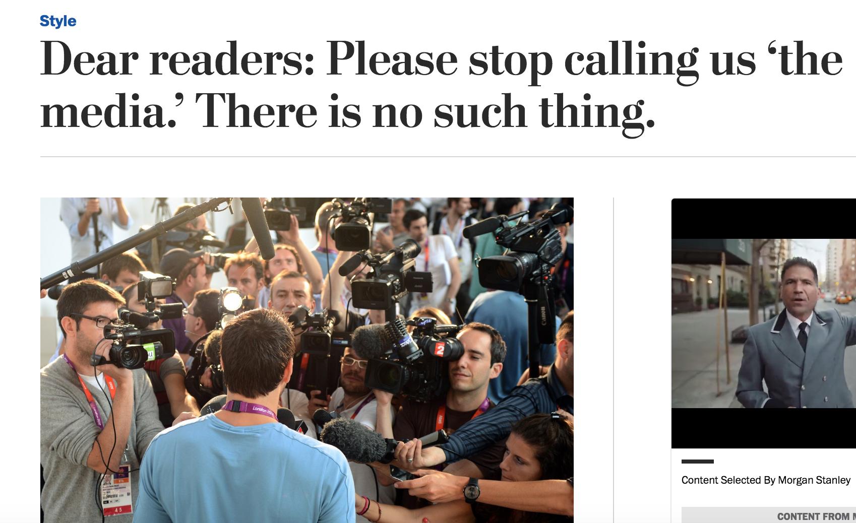 Washington Post söndag 25 september 2016.