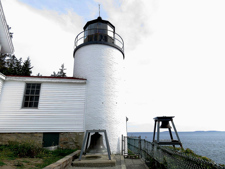 Bass Harbor Lighthouse på en av Mount Desert Islands sydspetsar. Foto: Erik Bergin