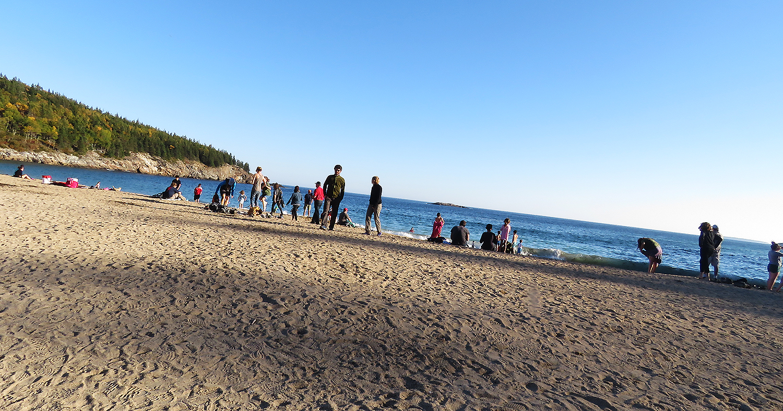 Sand Beach. Foto: Erik Bergin