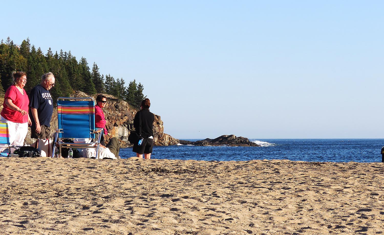 Sand Beach, Desert Mountain Island, Maine. Foto: Erik Bergin