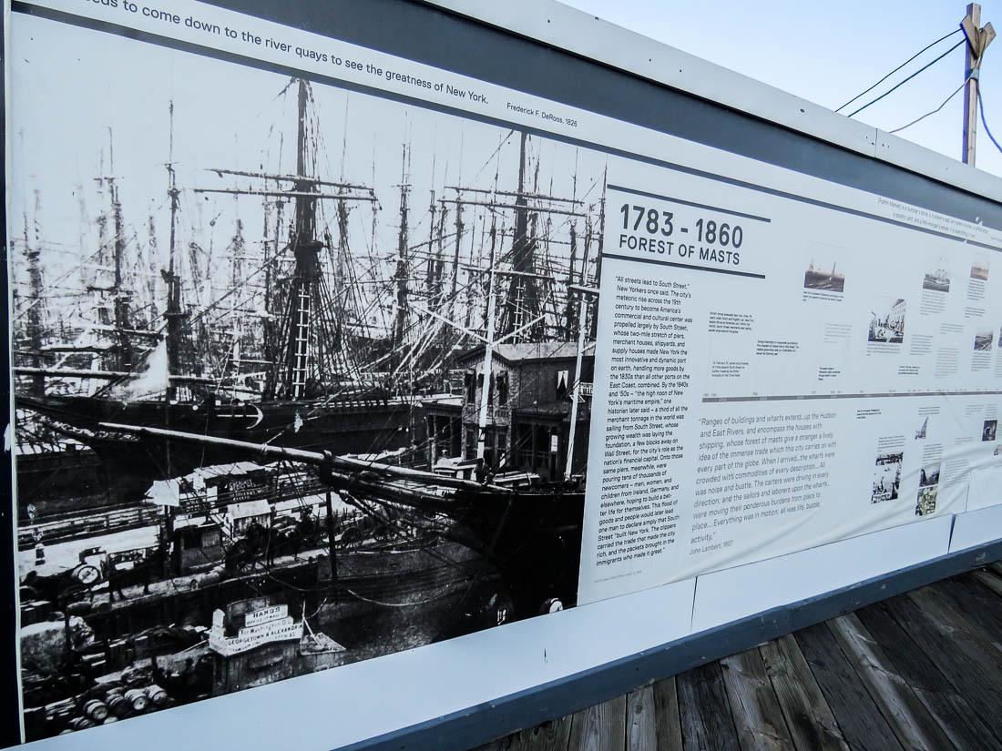 Old Seaport blomstrade på 1800-talet.