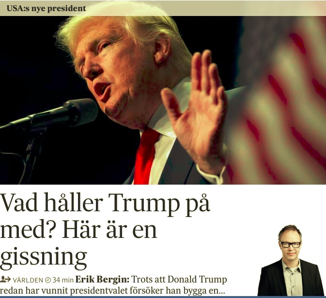 Analysen om Trumps alternativa version av valresultatet.