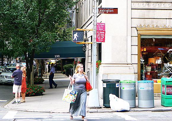 Korsningen Lexington/64th Street.