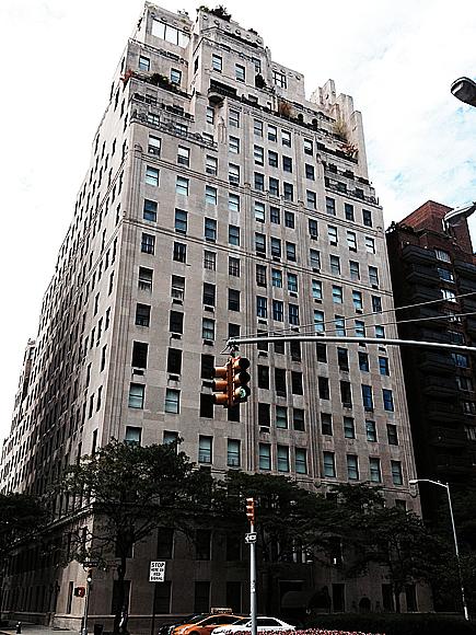 Miljardärernas boning på 740 Park Avenue.