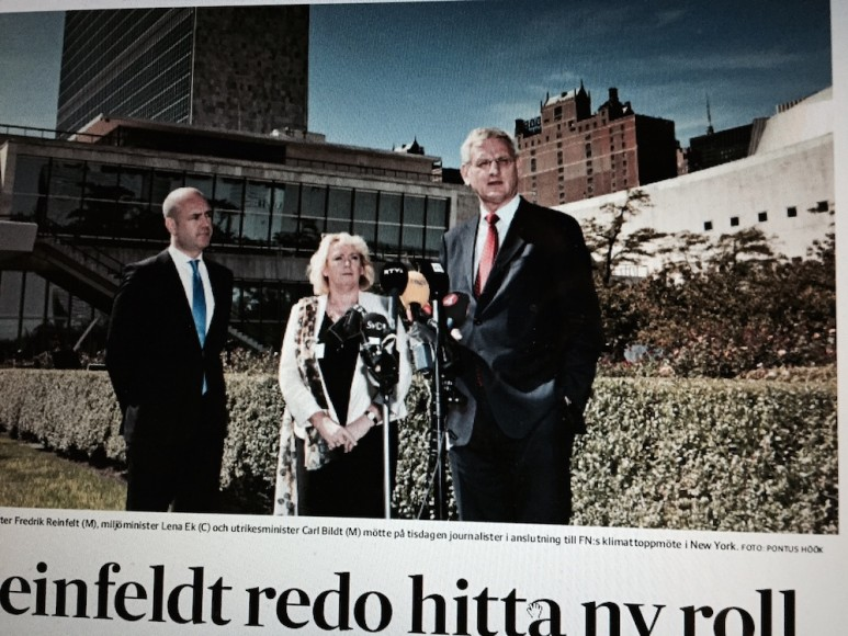 Rapporten från Reinfeldts presskonferens i SvD i onsdags.