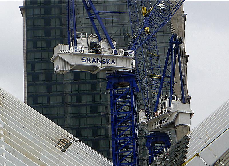 Skanska bygger vidare på det nya WTC.