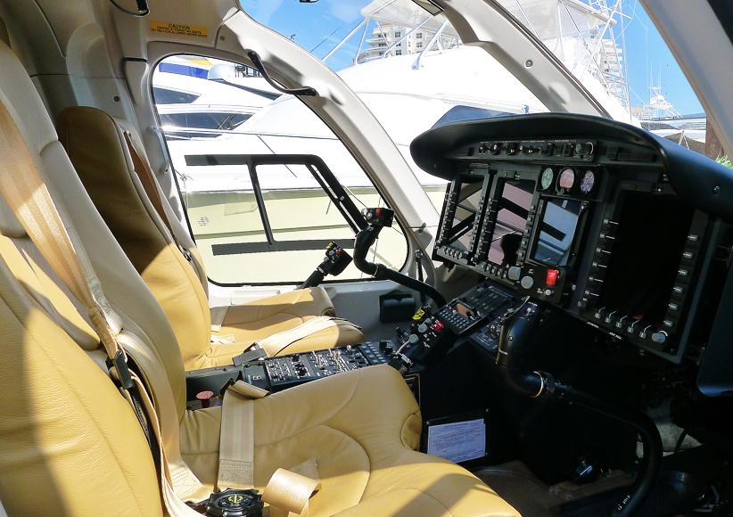 En Bell 429 Jet Ranger.