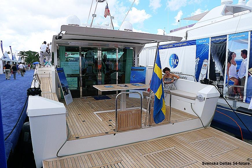 En svensk Delta i Fort Lauderdale 2014. Foto: Erik Bergin
