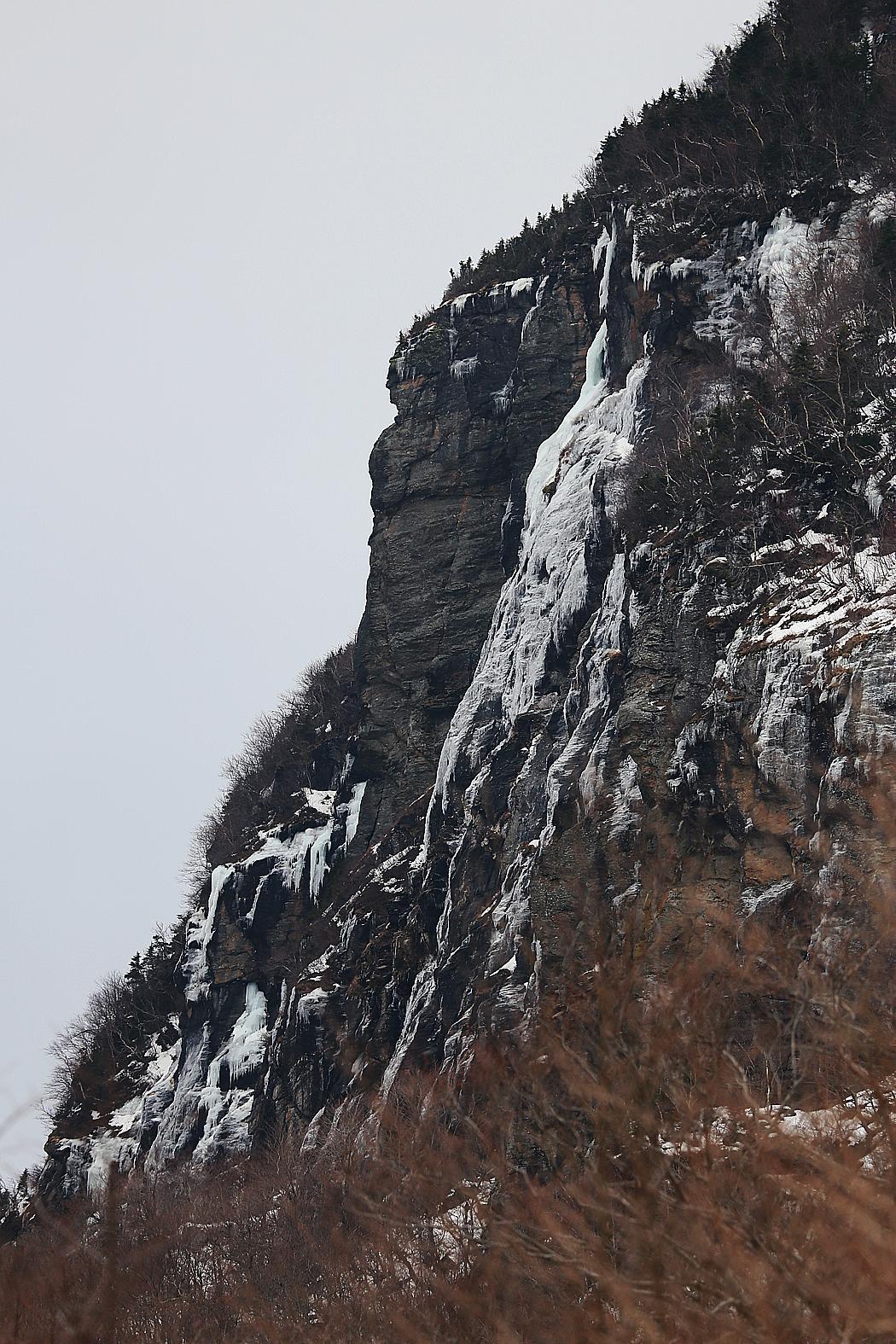 Bergen runt Stowe.