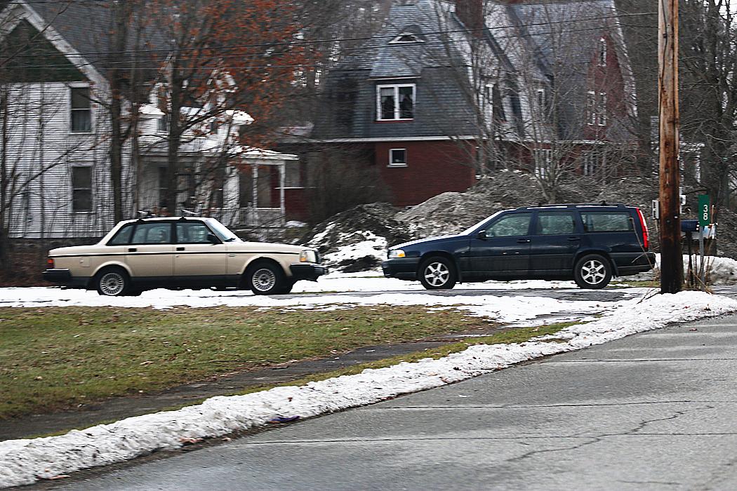 Japp, två prima Volvo. Den svenska bilen verkar vara the car of choice i Vermont.