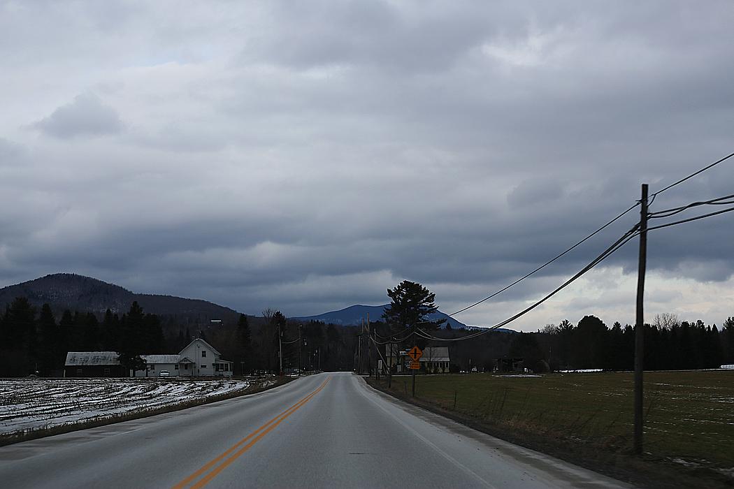Dramatisk Vermonthimmel.
