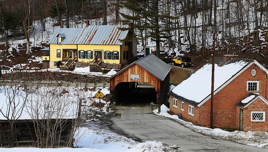 Samhällen Tunbridge, Vermont.