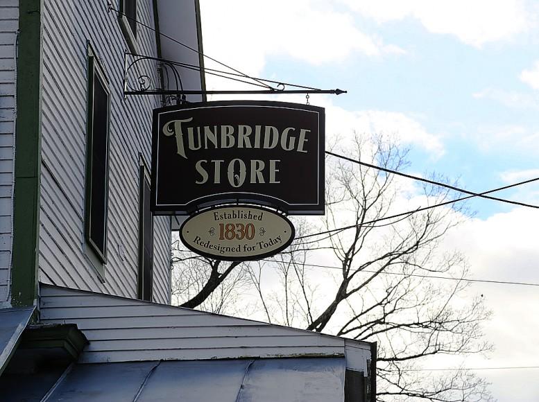 Lanthandeln i Tunbridge, Vermont.