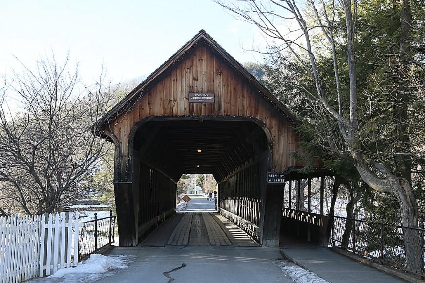 Ytterligare en av Vermonts övertäckta broar.