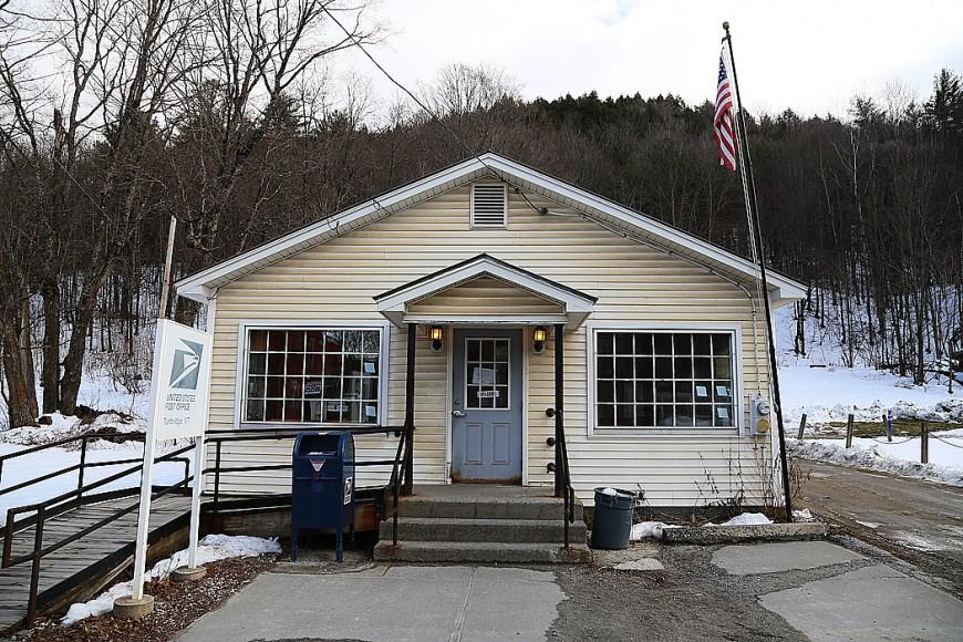 Postkontoren i Tunbridge.